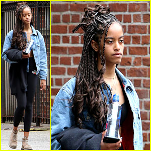 Malia Obama Spends Time in NYC After Freshman Year at Harvard!