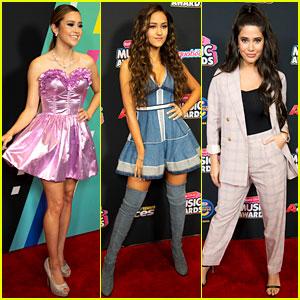 Megan Nicole, Skylar Stecker, & Symon Show Off Their Styles at Radio Disney Music Awards 2018