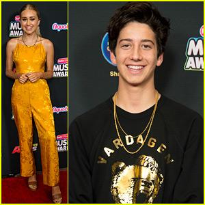 Emily Skinner & Milo Manheim Hit Up Radio Disney Music Awards 2018