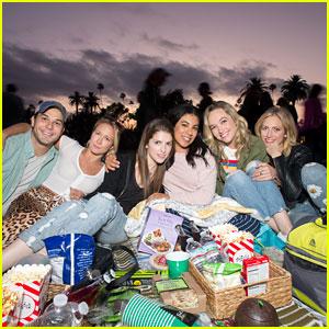 'Pitch Perfect' Stars Celebrate Kelley Jakle's Birthday at Movie Screening!