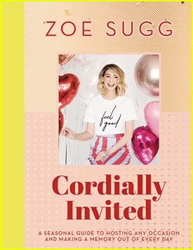Zoella Reveals Cover of New Book 'Cordially Invited'