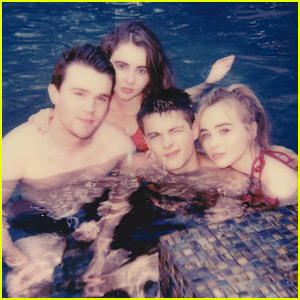 Sabrina Carpenter & Corey Fogelmanis Had A Fourth of July Pool Party!