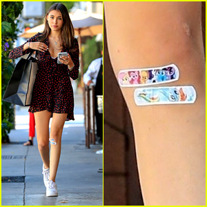 Madison Beer Wears My Little Pony Bandages While Out Shopping