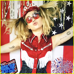 Miley Cyrus Spends Her Fourth of July with Brandi Cyrus & Friends - See the Fun Pics!