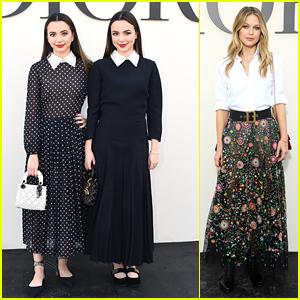 Veronica & Vanessa Merrell Head To Paris For Dior Fashion Show