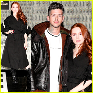 Madelaine Petsch & Travis Mills Couple Up For Moncler Genius Launch in LA