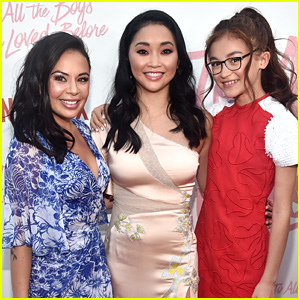 Anna Cathcart Gets Sweet Support From Lana Condor & Janel Parrish For New Series