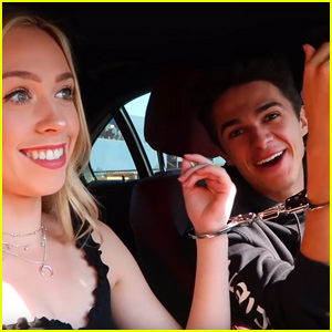 Brent Rivera Gets Handcuffed to His Ex-Girlfriend!