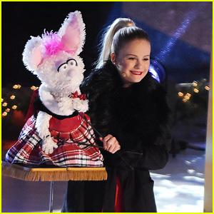 Darci Lynne Farmer Rings In The Holidays at Rockefeller Center Christmas Tree Lighting Ceremony