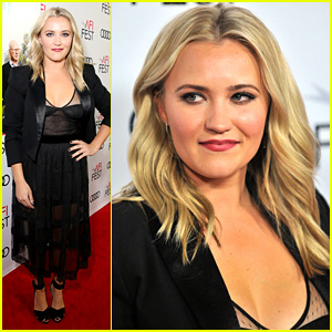 Emily Osment Turns Attention Back To Woolsey Wildfires at 'Kominsky Method' Premiere