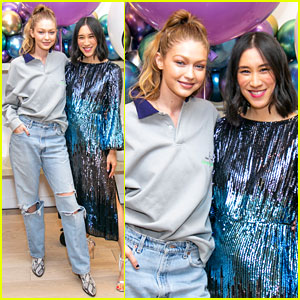 Gigi Hadid Supports Eva Chen at Launch of First Children's Capsule Collection!