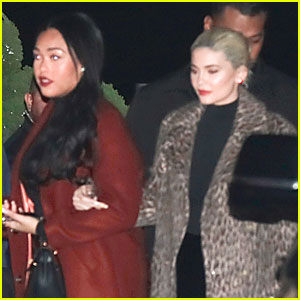Kylie Jenner & Jordyn Woods Have Girls' Night Out at Nobu