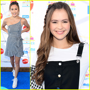LaurDIY, Olivia Sanabia & More Step Out for UCLA's Children's Hospital Party on the Pier Carnival