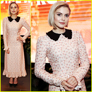 Rose McIver Steps Out For 'Christmas Prince: The Royal Wedding' Screening in LA