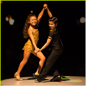 Sky Brown & JT Church Samba Their Hearts Out on 'DWTS Juniors' - Watch Here!