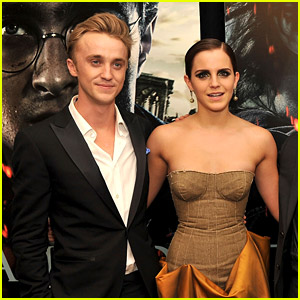 Dramione Reunion - Emma Watson Shares Cute Pic With Tom Felton on Instagram!