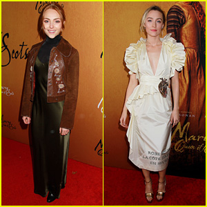 AnnaSophia Robb Supports Saoirse Ronan at 'Mary Queen of Scots' Premiere in NYC