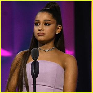 Ariana Grande Holds Back Tears During Women in Music 2018 Speech - Watch Now