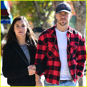 Hayley Erbert Spends Time with Derek Hough Ahead of DWTS Live Tour Kick Off This Weekend