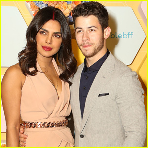 Nick Jonas & Priyanka Chopra Celebrate Bumble India Launch!
