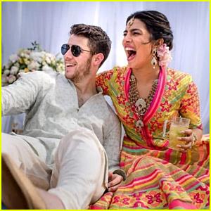 Priyanka Chopra & Nick Jonas Get Henna Tattoos in Photos from Mehendi Ceremony