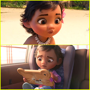 The Little Baby Moana in 'Wreck-It Ralph 2' Isn't Actually Baby Moana