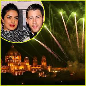 Nick Jonas & Priyanka Chopra Light Up the Sky with Fireworks at Their Wedding!