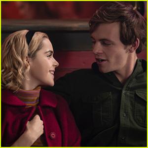 Kiernan Shipka & Ross Lynch Tease Sabrina & Harvey's Relationship In 'CAOS' Holiday Episode