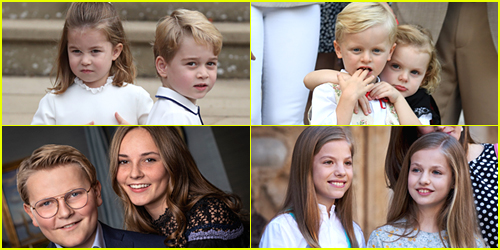 Prince George of Cambridge, Princess of Asturias Leonor & More Young Royals You Should Know