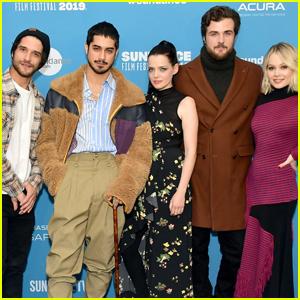 Avan Jogia Joins His 'Now Apocalypse' Co-Stars at Sundance 2019!