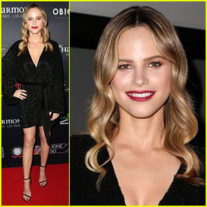 Halston Sage Steps Out for Filming In Italy Festival After 'Orville' Exit