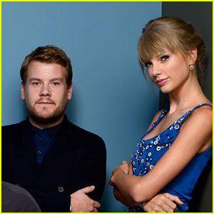 Taylor Swift & James Corden Might Be Doing a Carpool Karaoke Episode!