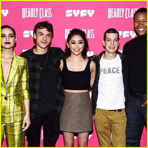 Lana Condor Joins 'Deadly Class' Co-Stars at the Premiere Screening!