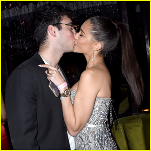 Madison Beer Kisses Zack Bia at Midnight on NYE!