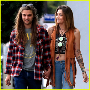 Paris Jackson Holds Hands with Her Boyfriend During Afternoon Stroll