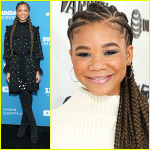 Storm Reid Spotted All Over Sundance Film Festival 2019 - See The Pics!