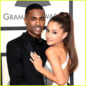 Ariana Grande & Big Sean Reunite Outside of a Recording Studio!