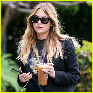 Ashley Benson Heads To Hair Salon Just Before 'Her Smell' Trailer Premieres