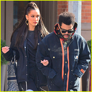 Bella Hadid & The Weeknd Stay Warm While Stepping Out in the Big Apple