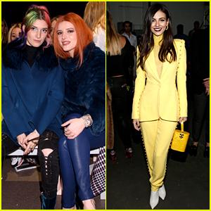 Bella Thorne & Victoria Justice Are Having Fashion Week Fun!