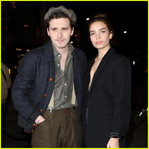 Brooklyn Beckham Supports a Good Cause with Girlfriend Hana Cross