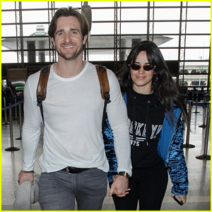 Camila Cabello Leaves L.A. After Grammys with Boyfriend Matthew Hussey