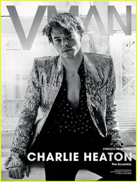 Charlie Heaton Talks 'Stranger Things' Success in 'V Man' Magazine