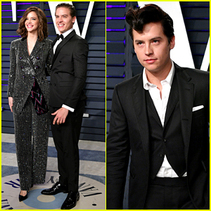 Cole Sprouse Joins Brother Dylan & 'Riverdale' Ladies at Oscars Party!