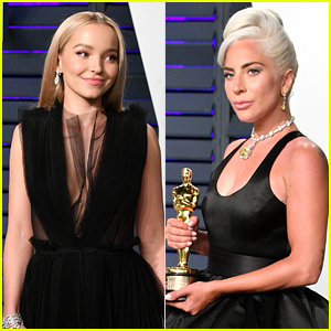 Dove Cameron Was Completely Starstruck Over Lady Gaga at Vanity Fair's Oscar Party