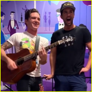 Drake Bell & Josh Peck Reunite For 'Fuego Lento' Duet - Watch!