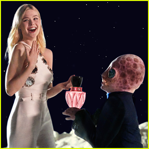Elle Fanning Heads to 'Space' for 'Miu Miu Twist' Perfume Launch!
