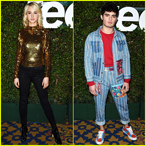 Isabel May & Emery Kelly Join More Netflix Stars at Teen Vogue's Young Hollywood Party
