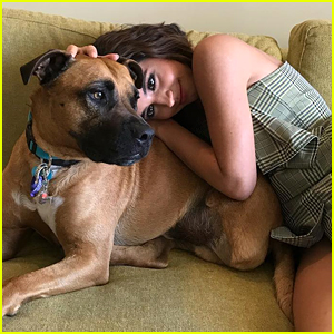 Isabela Moner Reveals How Adopting Her Dog Pluto Has Changed Her Life
