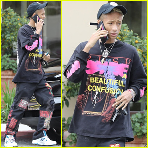 Jaden Smith Shaves Half of His Hair Off!